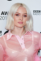Zara Larson<br /> arriving for the Radio 1 Teen Awards 2018 at Wembley Stadium, London<br /> <br /> ©Ash Knotek  D3454  21/10/2018