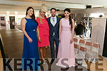 Models at the Killarney Heights Hotel Wedding Showcase last Sunday. Pictured are l-r Christine Leahy, Timmy Dowd, Maeve Carey and Denise Hickey.