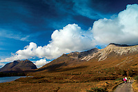 Liathach and Beinn Eighe from Coulin Forest, Ross & Cromarty, Northwest Highlands