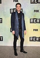 "LOS ANGELES - JANUARY 8: Brennin Hunt attends a press junket for FOX's ""RENT"" on the Fox Studio Lot on January 8, 2019 in Los Angeles, California. (Photo by Frank Micelotta/Fox/PictureGroup)"