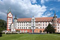 Germany, Upper Bavaria, hop-planting area Hallertau (Holledau), Benedictine monastery Scheyern | Deutschland, Bayern, Oberbayern, Hopfenanbaugebiet Hallertau (Holledau), Benediktinerkloster Scheyern