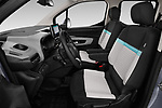 Front seat view of a 2019 Citroen Berlingo Shine 5 Door MPV front seat car photos