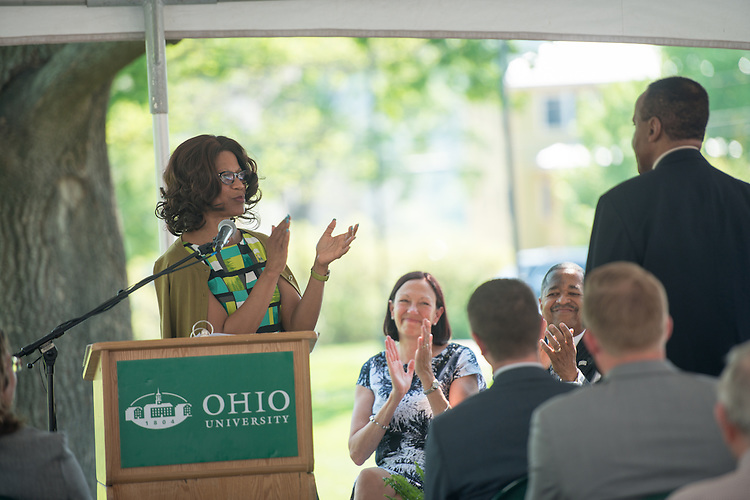 McCracken Hall Groundbreaking Patton College of Education* Photo by Ben Siegel/ Ohio University