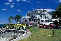 hotel, Bar Harbor, ME, Maine, Mount Desert Island, Bar Harbor Inn in Bar Harbor.