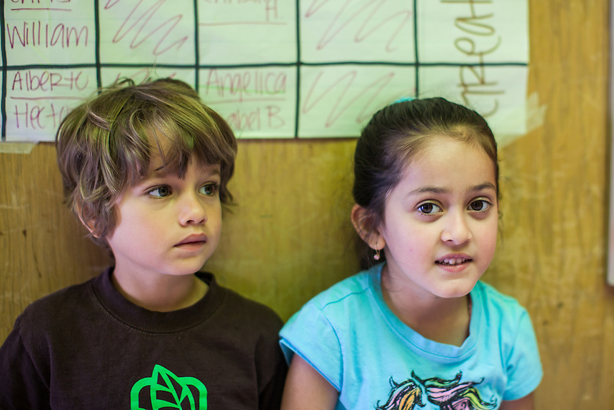 Ms. Emily Bean's Kindergarten class for the 2011-2012 Melrose Leadership Academy school year. MLA is a Spanish bilingual dual immersion OUSD public school.