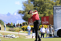 Richard McEvoy (ENG) tees off the 11th tee during Sunday's Final Round 4 of the 2018 Omega European Masters, held at the Golf Club Crans-Sur-Sierre, Crans Montana, Switzerland. 9th September 2018.<br /> Picture: Eoin Clarke | Golffile<br /> <br /> <br /> All photos usage must carry mandatory copyright credit (© Golffile | Eoin Clarke)