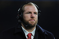 James Haskell, Sky Sports pundit, during the Quilter International match between England and Australia at Twickenham Stadium on Saturday 24th November 2018 (Photo by Rob Munro/Stewart Communications)