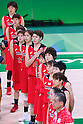 Japan Women's team group (JPN), AUGUST 16, 2016 - Basketball : Women's Quarter-final between USA Women's 110-64 Japan Women's at Youth Arena during the Rio 2016 Olympic Games in Rio de Janeiro, Brazil. <br /> (Photo by Sho Tamura/AFLO SPORT)