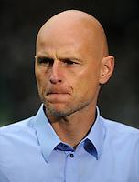 FUSSBALL   1. BUNDESLIGA   SAISON 2011/2012    12. SPIELTAG SV Werder Bremen - 1. FC Koeln                              05.11.2011 Trainer Stale SOLBAKKEN (1. FC Koeln)