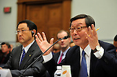 Washington, D.C. - February 24, 2010 --  Yoshimi Inaba, President and CEO, Toyota Motor North America, Inc., testifies before the U.S. House Committee on Government and Reform examining the Federal government's response to the recall of millions of Toyota vehicles due to reports of malfunctioning gas pedals, and to gain a better understanding of the nature of the sudden acceleration problem in Toyota vehicles and what should be done about it.  .Credit: Ron Sachs / CNP.(RESTRICTION: NO New York or New Jersey Newspapers or newspapers within a 75 mile radius of New York City)