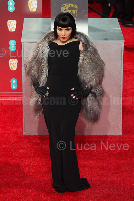 Noomi Rapace.<br />
