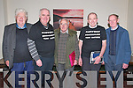 Turfcutters AGM: Attending the North Kerry Turfcuttesr Group AGM at the Mermaids Bar, Listowel on Friday night last were Vincent Brennan, Michael Scannell, Mike Looney, Denis Scannell & Con O'Keeffe.