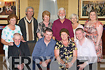 Margaret Moriarty Killorglin who celebrated her 60th birthday in the Manor Inn Killorglin on Friday night front row l-r: Michael, Joesph, Margaret, Kevin Moriarty. Back row: Joan Costello, John O'Shea, Mary, Paddy, Rhoda O'Shea and Edel Conway.