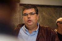 RIO DE JANEIRO,RJ, 08.11.2018 - POLICIA FEDERAL - O Deputado André Corrêa (DEM) , chega à sede da Policia Federal e o Ministério Público, que realizam a Operação Furna da Onça, que investiga a participação de deputados estaduais do Janeiro em esquemas de corrupção iniciados no governo do Cabral, na manhã desta quinta-feira, 08 (Foto: Vanessa Ataliba/Brazil Photo Press)