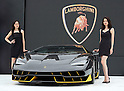 Lamborghini displays 100th anniversary Centenario model in Japan