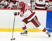 Alex Fallstrom (Harvard - 16) - The Harvard University Crimson defeated the University of New Hampshire Wildcats 7-6 on Tuesday, November 22, 2011, at Bright Hockey Center in Cambridge, Massachusetts.