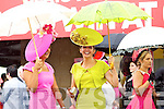 Amy Murphy, Bandon and Milliner Carol Kennelly, Tralee pictured at Galway Races ladies day on Thursday at Ballybrit racecourse.