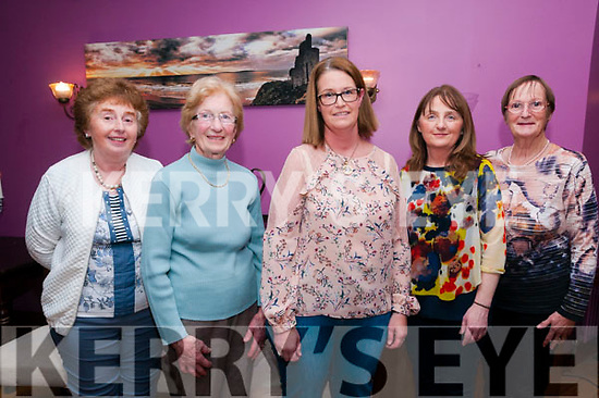 Pictured at the Jack Lyons & Jimmy Fitzgerald Commerative Weekend at Kilcooly's Country House, Ballybunion on Saturday night last were Carmel Guiney, Marie MceNery, Betty Joyce Mary Mulvihill & Deirdre Stack.