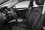 Front seat view of a 2009 - 2011 Audi A5 Ambition Luxe Sportback 5-Door Hatchback.