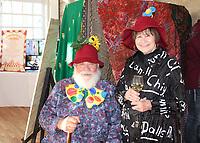 NWA Democrat-Gazette/CARIN SCHOPPMEYER David and Brenda Hirsch attend the Mad Hatter Ball.