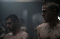 Papillon (2017)<br /> Rami Malek, Charlie Hunnam<br /> *Filmstill - Editorial Use Only*<br /> CAP/FB<br /> Image supplied by Capital Pictures