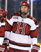 Eric Kroshus (Harvard - 10) - The Union College Dutchmen defeated the Harvard University Crimson 2-0 on Friday, January 13, 2011, at Fenway Park in Boston, Massachusetts.