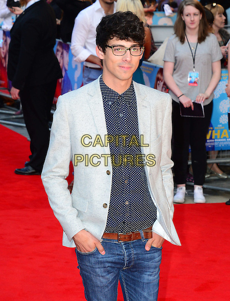 Matt Richardson<br /> attends the 'What If'  of 'What If' at Odeon West End cinema  on August 12, 2014 in London, England<br /> CAP/JOR<br /> &copy;Nils Jorgensen/Capital Pictures