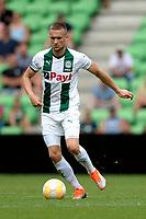 GRONINGEN - Voetbal, FC Groningen - Werder Bremen, voorbereiding seizoen 2018-2019, 29-07-2018, FC Groningen speler Mike te Wierik