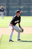 Ryan Lormand, San Francisco Giants 2010 minor league spring training..Photo by:  Bill Mitchell/Four Seam Images.