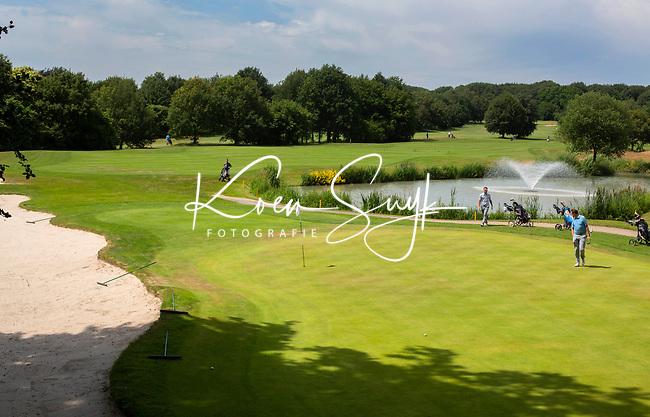 GROESBEEK - Groesbeekse Baan Noord hole 9.  Golfbaan Het Rijk van Nijmegen. COPYRIGHT  KOEN SUYK