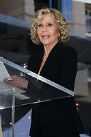 LOS ANGELES - NOV 6:  Jane Fonda at the Michael Douglas Star Ceremony on the Hollywood Walk of Fame on November 6, 2018 in Los Angeles, CA
