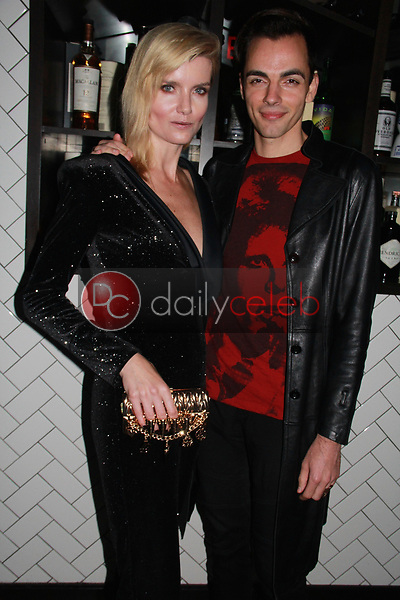 """Eugenia Kuzmina, Ilia Yordanov<br /> at the """"Struggleing"""" For Your Consideration event hosted by A. Whole Productions and Brent Harvey Films, Crossroads Kitchen, Los Angeles, CA 06-06-18<br /> David Edwards/DailyCeleb.com 818-249-4998"""