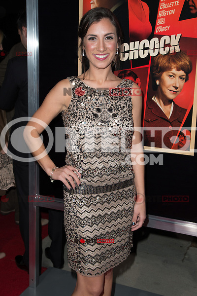 "November 20, 2012 - Beverly Hills, California - Annika Marks at the ""Hitchcock"" Los Angeles Premiere held at the Academy of Motion Picture Arts and Sciences Samuel Goldwyn Theater. Photo Credit: Colin/Starlite/MediaPunch Inc"