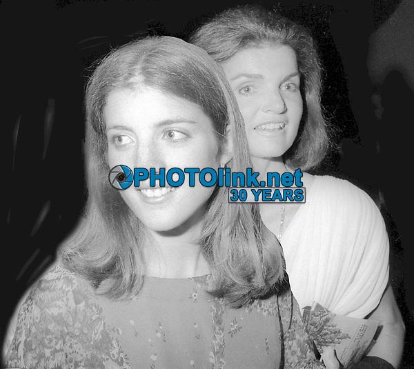 Caroline Kennedy Jackie Kennedy 1978<br /> Photo By Adam Scull/PHOTOlink.net
