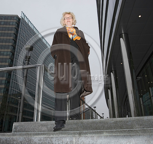 BRUSSELS - BELGIUM - 27 FEBRUARY 2006 -- Marit ENGEBRETSEN, Energy Councillor at the Norwegian Mission to the EU. -- PHOTO: JUHA ROININEN / EUP-IMAGES