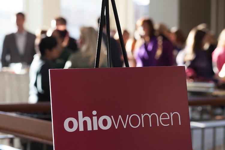 The OhioWomen Open House outside of the Women's Center in Baker University Center on Thursday, November 19, 2015. Photo by Kaitlin Owens