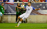 Harrison, N.J. - Friday September 01, 2017:  Graham Zusi at Red Bulls stadium during a 2017 FIFA World Cup Qualifying (WCQ) round match between the men's national teams of the United States (USA) and Costa Rica (CRC) at Red Bull Arena.