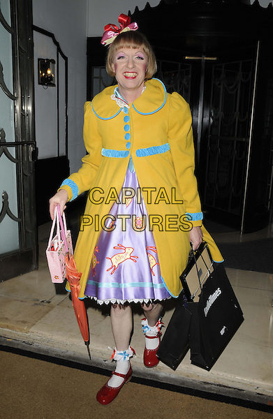 LONDON, ENGLAND - JANUARY 28: Grayson Perry attends the Radio Times Covers Party, Claridge's Hotel, Brook St., on Tuesday January 28, 2014 in London, England, UK.<br /> CAP/CAN<br /> &copy;Can Nguyen/Capital Pictures