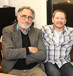 Judd Hirsch, Tyler Marchant & Tom Cavanagh in rehearsal for 'Freud's Last Session'. Judd Hirsch as Sigmund Freud and Tom Cavanagh as C. S. Lewis under the direction of Tyler Marchant at the Davenport Studios in New York City on December 17, 2012