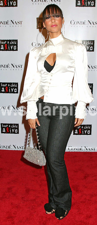 ALL ROUND PICTURES FROM SOLARPIX.COM.SYNDICATION RIGHTS FOR UK, SOUTH AFRICA, DUBAI, AUSTRALIA..Conde Naste Media Group Presents The Black Ball - Arrivals - Hammerstein Ballroom - New York, NY .This Picture: Alicia Keys..DATE: 09/11/2006-JOB REF: 3112-PHZ.**MUST CREDIT SOLARPIX.COM OR DOUBLE FEE WILL BE CHARGED**