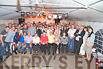 Mike Moynihan, seated second from left, pictured with some of the large crowd that turned up for the night of music and dancing in memory of his parents Nora and Humphrey and uncle Timmy O'Connor, in his Kilcummin home on Friday night...................Christy O'Mahony, captain Beaufort Golf club and Irene McCarthy, Lady Captain Beaufort Golf Club pictured with James Lucey and Sheila McCarthy, who were the winners in their Captain Prize Competition at the course on Sunday. Also pictured are Frank Coffey, President, Sean Coffey, vice captain, Teresa Clifford, Margaret Guerin, Josephine O'Shea, Gretta Hurley, Renee Clifford, Peggy O'Riordan, Maureen Rooney, Mary Barrett, Robin Suter, Gearoid Keating, Jim Hurley, Gabhan O'Loughlin, Rory Browne, Mike Quirke, Matt Templeman and Simon Rainsford...Picture: Ger Cronin LMPA (087) 0522010....PR SHOT..NO REPRODUCTION FEE.............................................................................................................................................................................................................................................