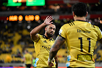 Hurricanes&rsquo; Matt Proctor in action during the Super Rugby - Hurricanes v Lions at Westpac Stadium, Wellington, New Zealand on Saturday 5 May 2018.<br /> Photo by Masanori Udagawa. <br /> www.photowellington.photoshelter.com
