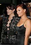 """HOLLYWOOD, CA. - September 03: Rumer Willis and Briana Evigan arrive at the Los Angeles premiere of """"Sorority Row"""" at the ArcLight Hollywood theater on September 3, 2009 in Hollywood, California."""