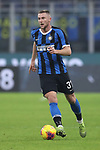 Milan Skriniar of Inter during the Coppa Italia match at Giuseppe Meazza, Milan. Picture date: 14th January 2020. Picture credit should read: Jonathan Moscrop/Sportimage