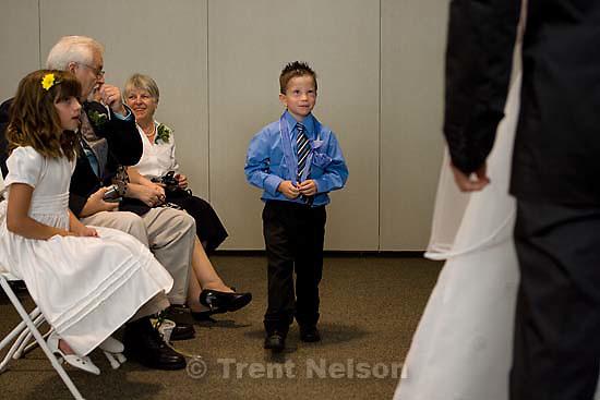 Maddie Quayle, Dave Scott wedding.Monday August 3, 2009 in South Jordan. ollie zambrano