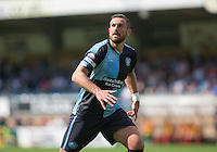 Paul Hayes of Wycombe Wanderers during the Sky Bet League 2 match between Wycombe Wanderers and York City at Adams Park, High Wycombe, England on 8 August 2015. Photo by Andy Rowland.