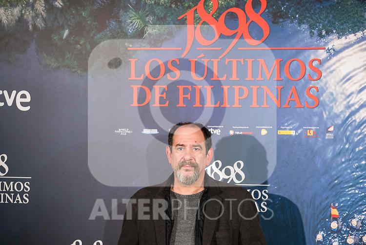 "Karra Elejalde attends to the presentation of the spanish film "" 1898. Los ultimos de Filipinas"" at Naval Museum in Madrid, Spain. November 28, 2016. (ALTERPHOTOS/BorjaB.Hojas)"