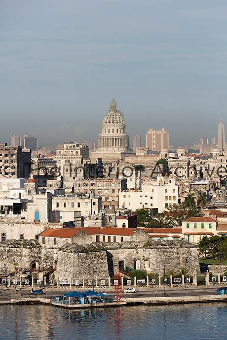 A view of 'old' Havana behind the original city walls