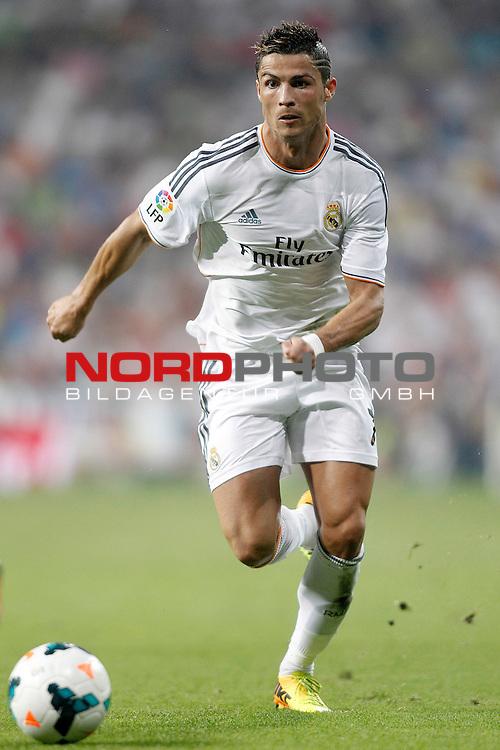 Real Madrid's Cristiano Ronaldo during La Liga match.August 18,2013. Foto © nph / Acero)