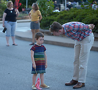 NWA Democrat-Gazette/ANDY SHUPE<br /> Thursday, Sept. 6, 2018, during First Thursday on the Fayetteville downtown square.